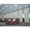 供应椒江酒店会议室折叠门,宴会厅隔音移门,包厢移动隔断