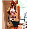 2011新款韩国代购进口正品女夏季休闲短裤裙裤26140