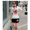 2011新款女装 活泼运动休闲半身裙25407
