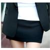 2011新款女装 OL通勤风格纯色西装裙短裙23767