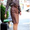 韩国代购进口正品女装纯色腰带时尚女半身裙