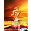 供应水晶工艺礼品 高档商务馈赠礼品 定做龙年水晶工艺品
