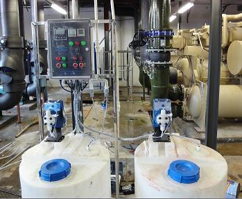 供应自动加药与自动排污装置