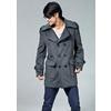 2011 中长款风衣 男 冬装正品 男装外套羊毛呢大衣加厚