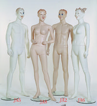 供应展示道具,半身模特,全身模特,橱柜模特
