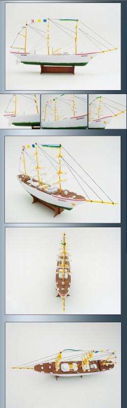 """供应""""扬帆号""""电动帆船拼装模型"""