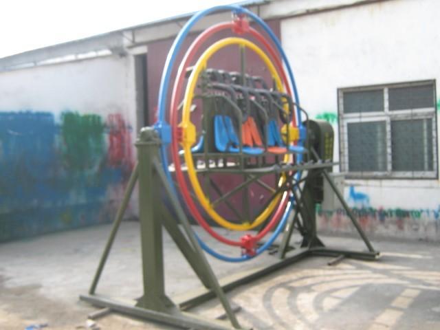 供应河南三维太空环 郑州太空环 机器人拉黄包车