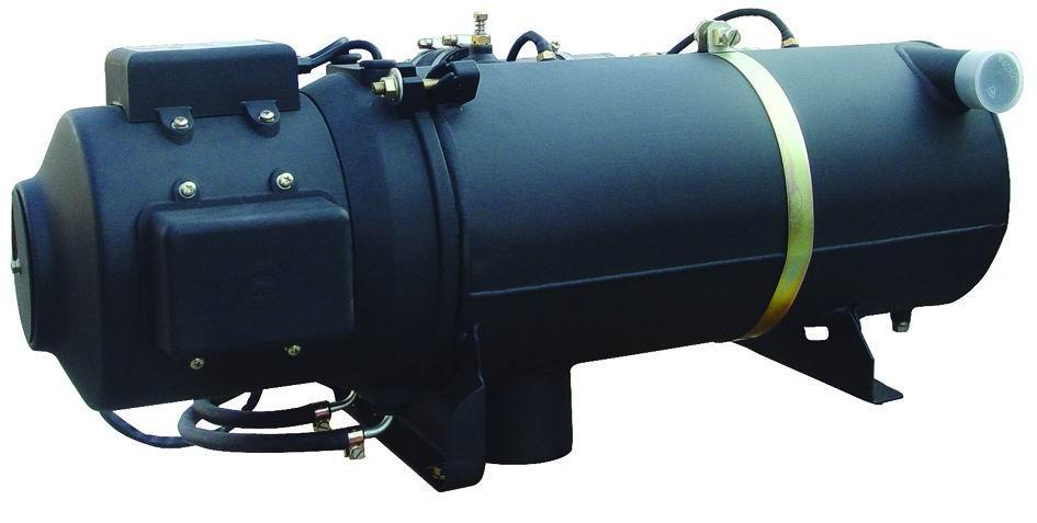 YJ系列燃油加热器是通过燃烧换热原理加热器循环系统内冷却液介质。其控制方式为自动型,该产品采用与环境温度相适应牌号的轻柴油作为燃料,能在-40以上的环境条件下正常工作。使用24V(也可根据用户需求订做12V)直流电源。它可与发动机及强制散热器等辅助散热装置组成循环系统,为各种车辆发动机低温启动,风挡玻璃除霜和车室内取暖提供热源。   该产品适用于下列条件:   1、环境温度:-40-+40   2、系统内温度:≤95   3、系统内压力:0.