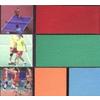 供应巢湖篮球场网球场塑胶跑道人造草