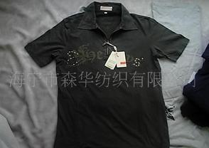 休闲装,拉链领T恤,POLO衫,棉弹力男装T恤