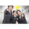 供应韩国风格情侣装短袖夏装圆领T恤红白条纹女裙S821