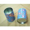 供应圆铁罐 强华制罐笔筒 金属创意笔筒 铁制笔筒