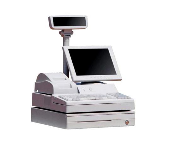供应合肥品牌pos机收款机收银机打印机一体机
