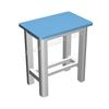 供应业生产小学科学实验室家具|小学科学实验室家具学生凳