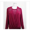 厂家直供2011新款秋冬装中老年服装休闲假两件套