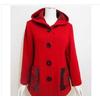 厂家直销 2011新款冬装 中年毛呢外套 女