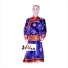 内蒙古民族服装服饰舞台服装男士短款布腰带蒙古袍40