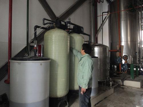 供应软化水装置