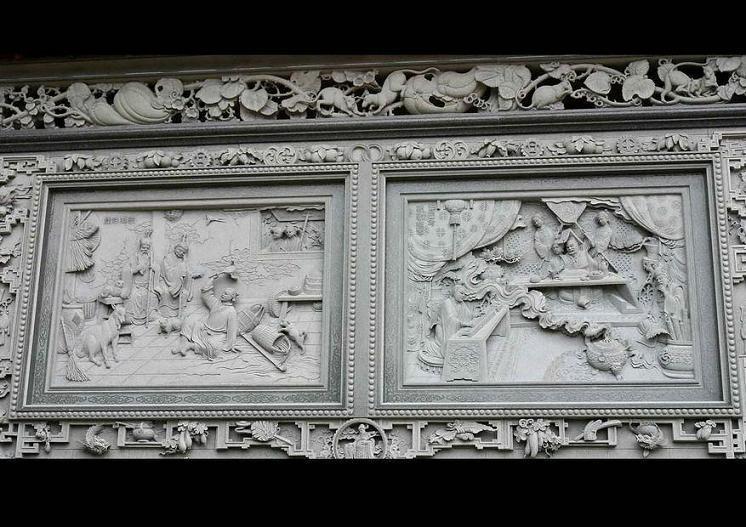 供应浮雕壁画,园林石雕,浮雕壁画图片,价格图片