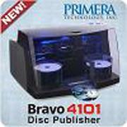 供应派美雅最新推出的全自动高性能高速光盘打印刻录一体机—4101