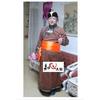 少数民族服装 蒙古族服饰 演出服 男士蒙古袍 鹿皮绒蒙古袍