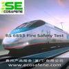 供应轨道车辆材料防火测试BS6853标准