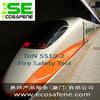 供应轨道车辆材料防火测试德国DIN5510-2标准