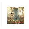 供应2011新款秋装半身裙 复古牛仔半身长裙 赠腰带