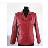 厂家直销2011新款韩版人气中老年女装 休闲翻领皮上衣/外套