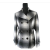 厂家直销2011年新款中老年女装 简约时尚格子上衣