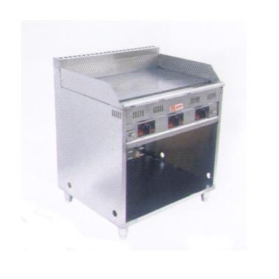 供应落地式燃气牛排汉堡煎盘机
