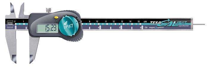 供应瑞士TESA数显卡尺经济型00530090 TESA卡尺