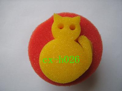 供应海棉小猫咪 海棉玩具