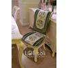 供应 亚特兰蒂斯椅坐椅背巾套装绿色