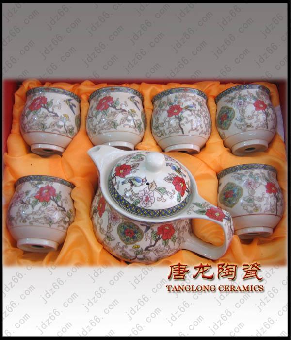 供应陶瓷茶具,春节礼品茶具,商务馈赠茶具,茶具专业订做