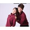 专柜正品 新款KAPPA春秋女子修身显瘦南韩丝运动服套装