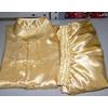 供应上海直销金黄色丝绸太极服