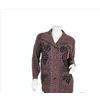 新款中年女裝中老年服飾 媽媽裝 七分袖針織衫假開衫