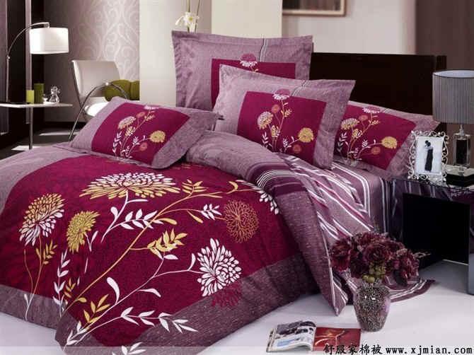 供应棉花被 舒服家棉被 双人冬被 新疆一级长绒棉