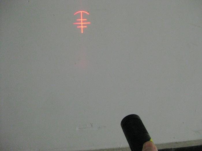 供应635nm丰字型制鞋机激光模组 红外线定位仪