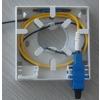 供应FTTH入户面板盒、光纤信息盒、光纤面板盒、光纤桌面安装盒