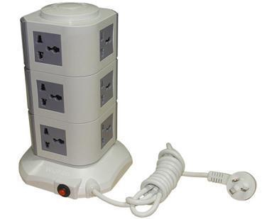 供应物联网智能家居 无线竖岛智能排插