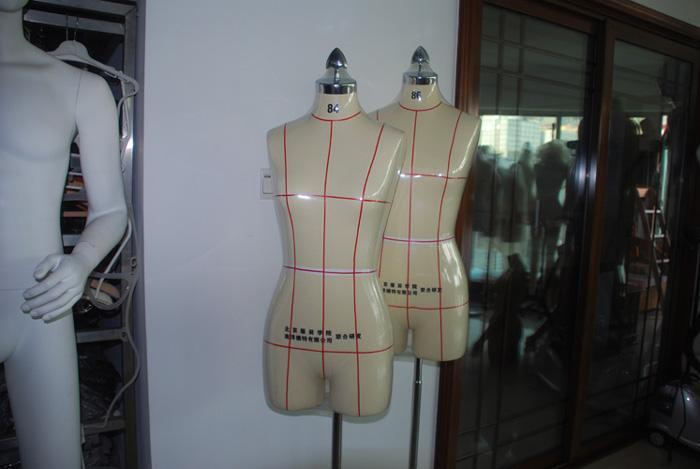 供应服装展示人台/厦门板房展示人台/板房国标立裁模特