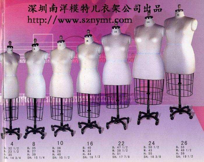 供应女装展示模特 男装展示模特 男女半身展示模特