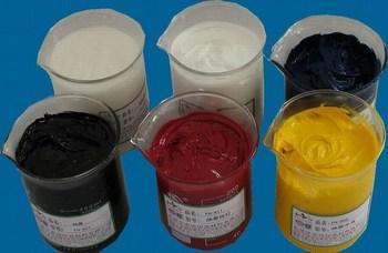 供应印花热固油墨 纺织品印花热固油墨 皮革印花热固油墨