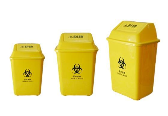 供应废物垃圾桶 翻盖 无脚踏