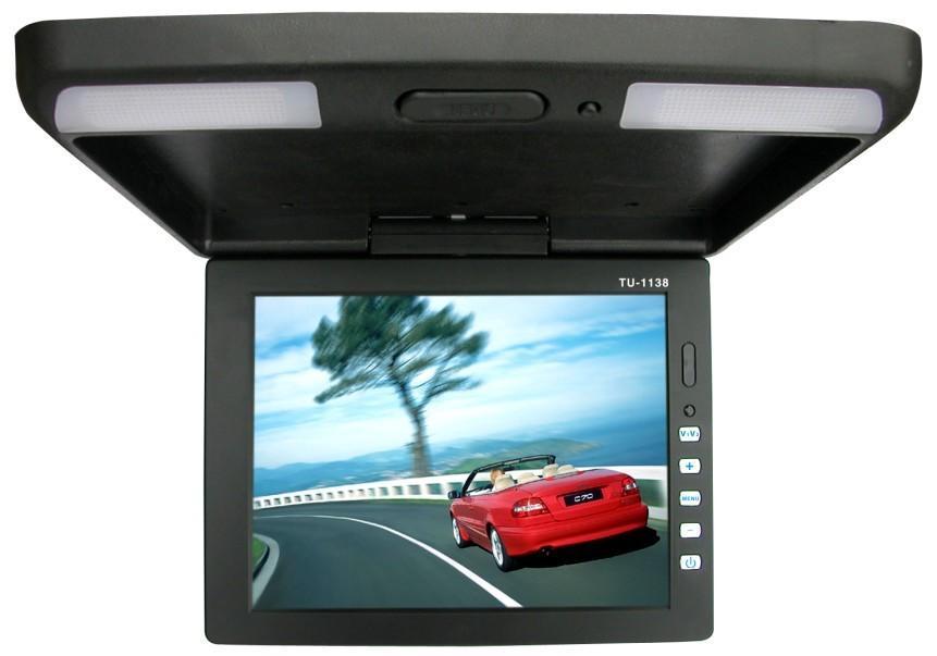 供应特制11.3寸带VGA接口车载显示器,米色黑色灰色可选