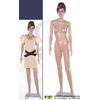 供应彩妆塑料模特 塑料模特 彩妆模特道具 化妆模特道具 彩妆女模特(图)