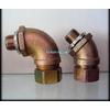 供应45度、90度铁镀锌接头、外丝接头、箱接头、穿线管接头