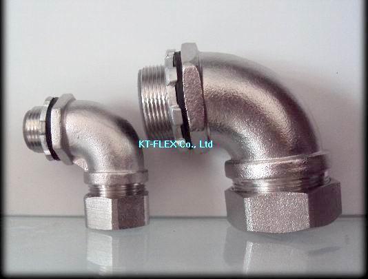 供应90度不锈钢接头、管接头、箱接头、外丝接头